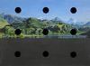 STUART BRISLEY, South Sea Island Landscape with Black Holes, 1994