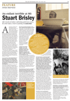 STUART BRISLEY, Stuart Brisley interview by Louise Buck in The Art Newspaper, October 2013, Number 250
