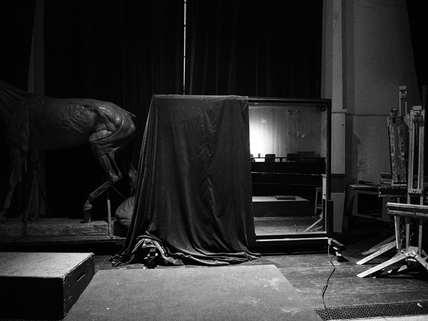 STUART BRISLEY, Breath, 2014, 7pm, 29.10.2014/Performance at Royal Academy Schools Life Room