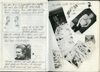 STUART BRISLEY, Rottweil school childrens' notes and letters to Stuart Brisley on '12 Days', 1975