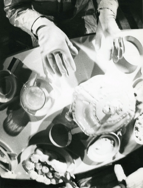 STUART BRISLEY, White Meal, 1966, Middle Earth<br />