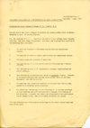 STUART BRISLEY, Hornsey College of Art Student Liason Committee – Document No. 3, 1968