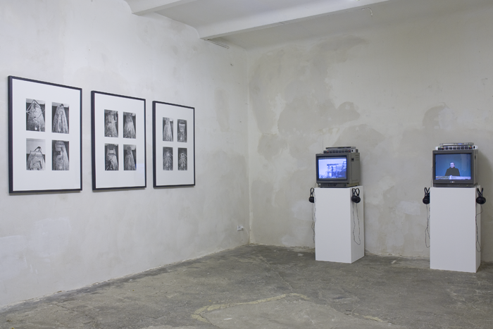 STUART BRISLEY, Installation views at Galerie Exile, 2010