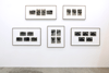 STUART BRISLEY, Homage to the Commune, 1976, 21 unique gelatine silver prints mounted individually on card